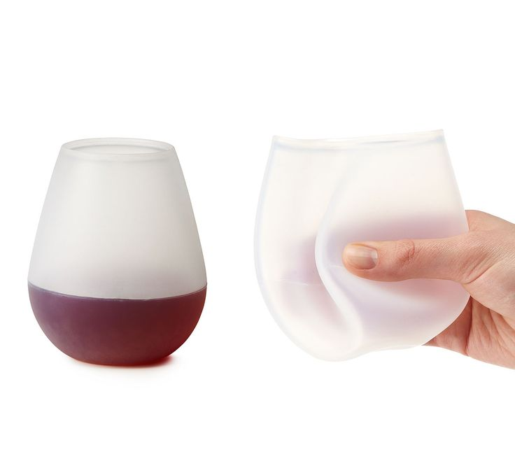 Unbreakable Wine Glass http://stuffyoushouldhave.com/unbreakable-wine-glass/