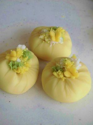 春のねりきり和菓子 Spring Nerikiri