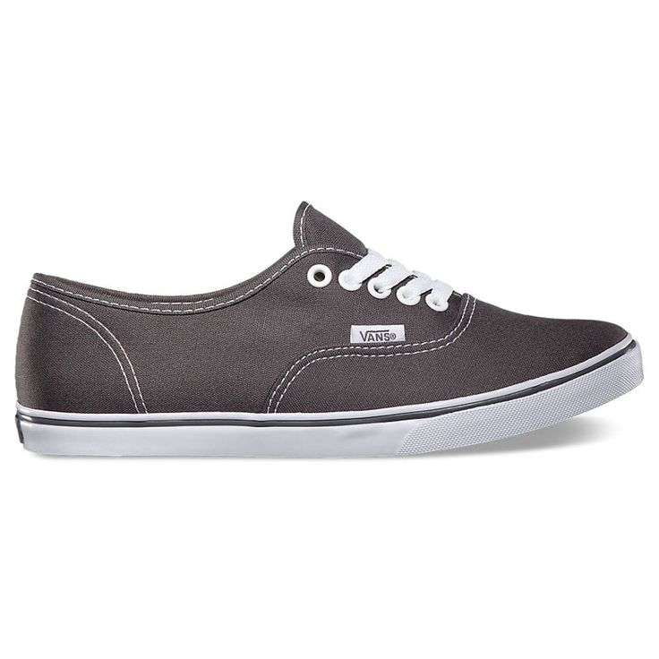 Sizes are in Men's. See Size Chart for Women's sizes. Vans The Authentic Lo Pro, a simple low top, lace-up with a slim silhouette, has a canvas upper, metal eyelets, Vans flag label and low profile vu
