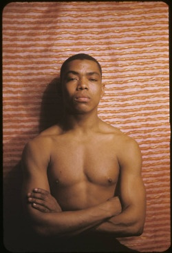 Alvin Ailey, iconic dancer, choreographer and founder of the Alvin Ailey American Dance Center, March 1955. Photograph by Carl Van Vechten.