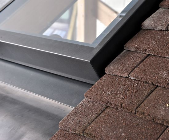 Lumen EVO rooflight - steel frame construction offers great design flexibility whilst keeping the visible framework to a minimum.
