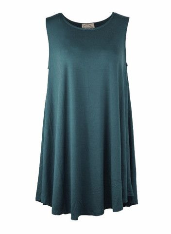 Teal Easy Fitting Dress – DejaVu