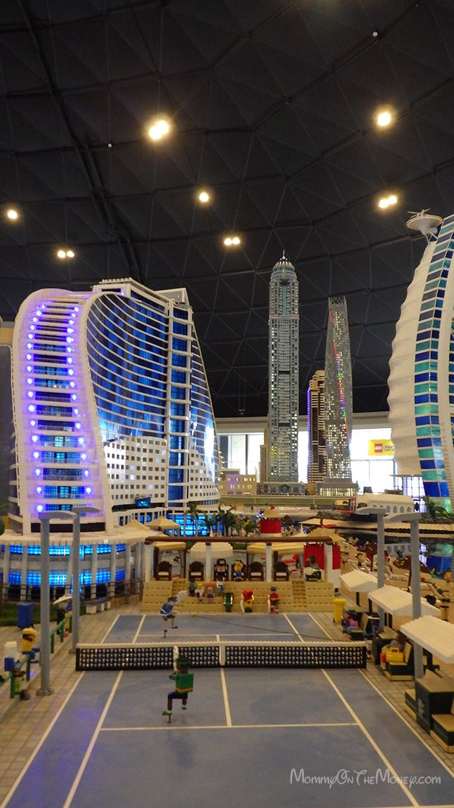 LEGOLAND Dubai Miniland - beautiful miniature LEGO models of Dubai and other cities around the world