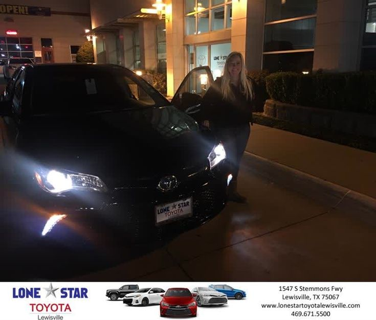 Lone Star Toyota of Lewisville Customer Review  Chris Richardson was amazing !! I was able to trade my previous vehicle, take me out of my negative equity position, and put me in a beautiful Camry SE and comfortable payment . I highly recommend Lone Star Toyota !!  Amy, https://deliverymaxx.com/DealerReviews.aspx?DealerCode=E208&ReviewId=57397  #Review #DeliveryMAXX #LoneStarToyotaofLewisville