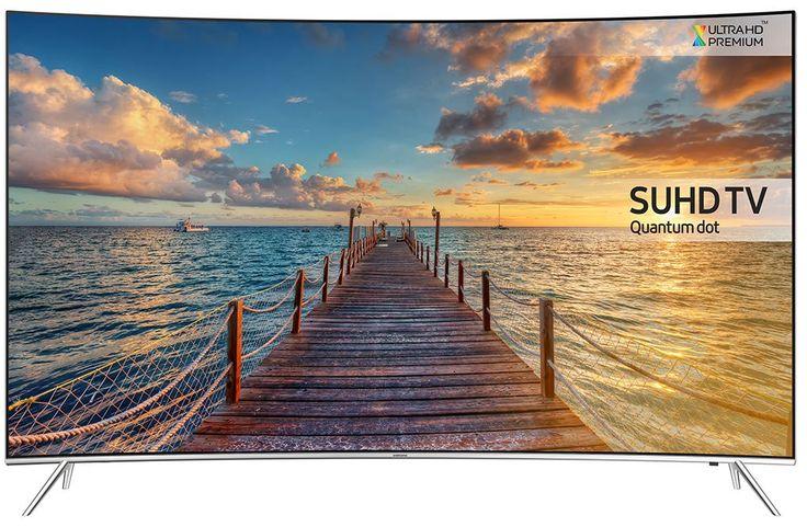 """Samsung UE55KS7500  Description: Samsung UE55KS7500: 55"""" Curved SUHD Smart TV Geniet van de rijke details op het 55"""" SUHD LED display van de Samsung UE55KS7500. Met hypermoderne technieken als Quantum Dots HDR 1000 en Peak Illuminator Pro spatten alle beelden van het Curved scherm af! De energie die bespaard wordt door de zwarte delen te dimmen wordt naar de heldere plekken gestuurd om die extra te verlichten. Efficiënt gebruik van de beschikbare energie. De details en het contrast op de…"""