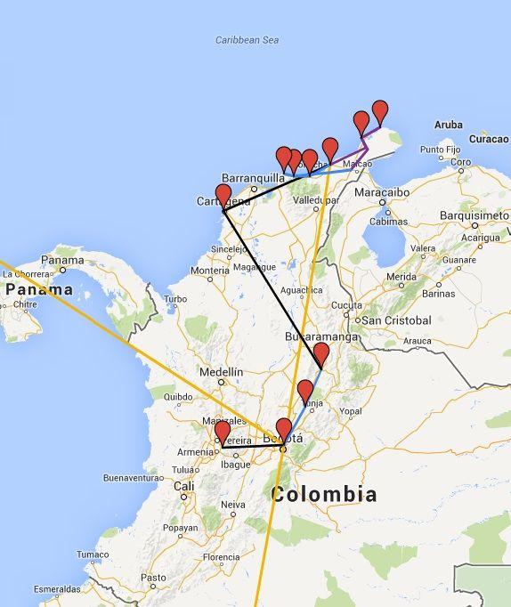 Quelques mots de conclusion sur notre parcours en Colombie