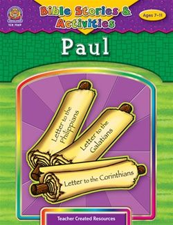 Paul - Bible Story Activity Book