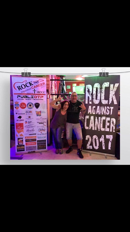 Salvador artesano zapaterías colaborador del Rock Against Cancer a beneficio de la asociación española contra el cáncer