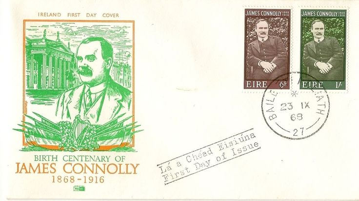 1968 James Connolly FDC