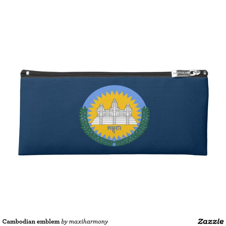 Cambodian emblem pencil case