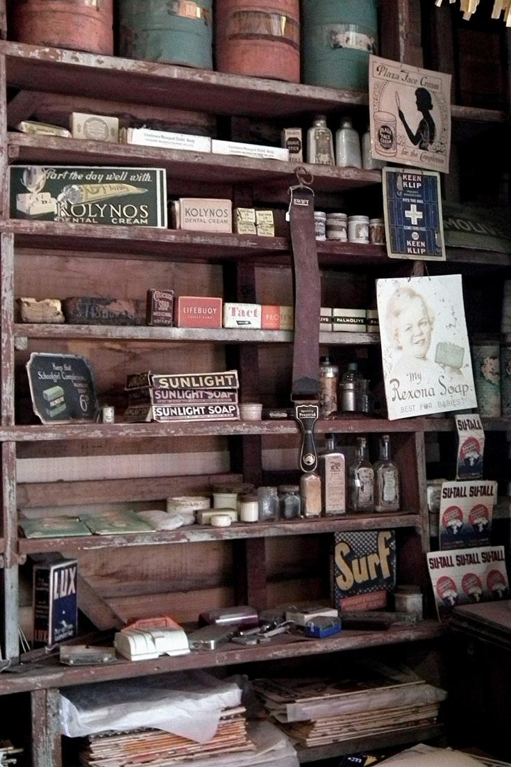 Abandoned shop.