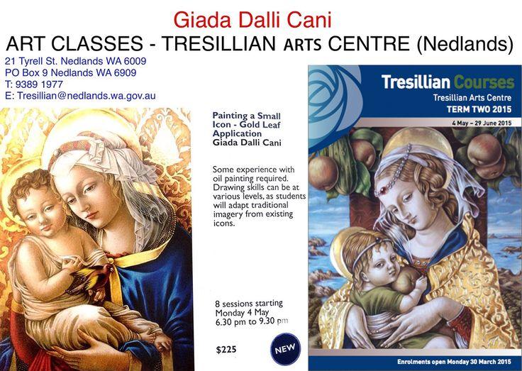 G. Dalli Cani - Tresillian Arts Center - Enrollment booklet front page and course description.