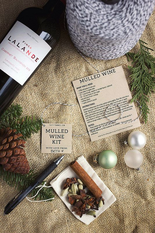 How-to Make a Mulled Wine Kit // @tastyyummies // www.tasty-yummies.com