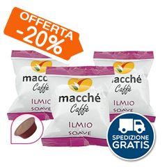 100 CAPSULE MACCHÉ CAFFÉ ILMIO SOAVE