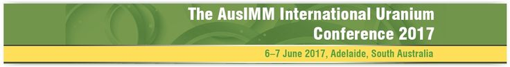 #geocongress Uranium 2017 — The AusIMM International Uranium Conference 2017. Adelaide, South Australia, Australia. 06 Jun 2017 - 07 Jun 2017. The AusIMM International Uranium Conference 2017 is pleased to be supported by the South Australian Government Department of State Development as Leading Conference Partner once again. The organising committee is excited to present another action packed and full conference program, including outstanding...