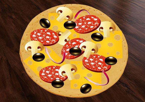 Пицца вектор /  pizza vektor