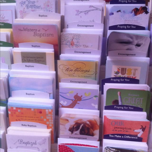 Day spring greeting cards