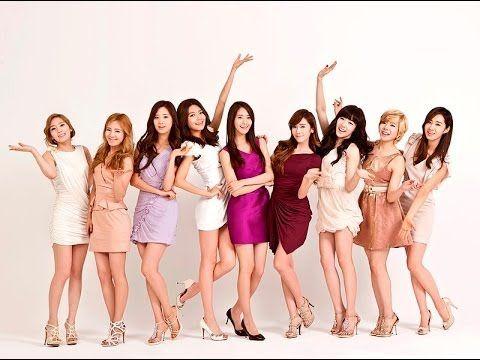 Girls' Generation Beautiful Korean Girls