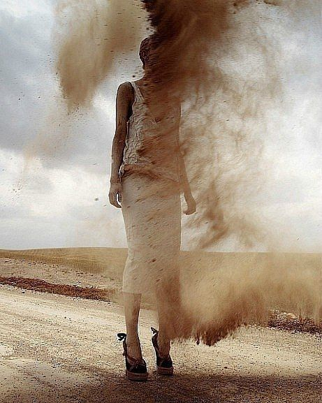 ♂ Dream Imagination Surrealism Surreal art Spontaneous Dust Storming.