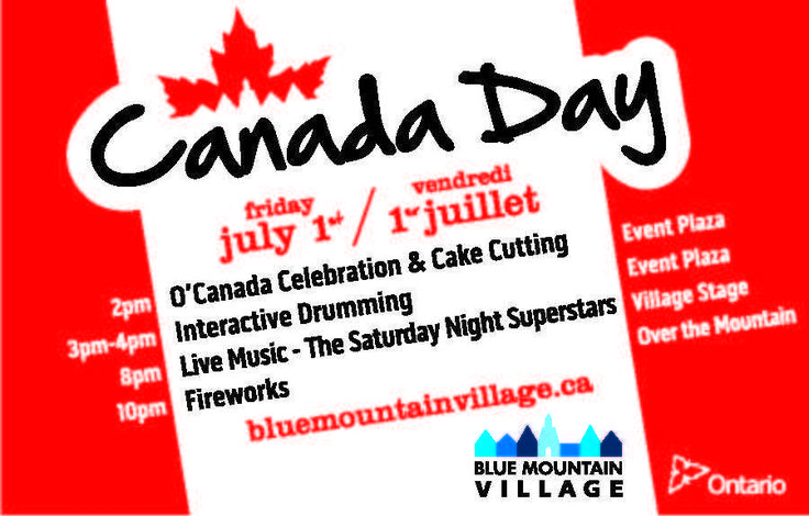 Canada Day at Blue Mountain Village
