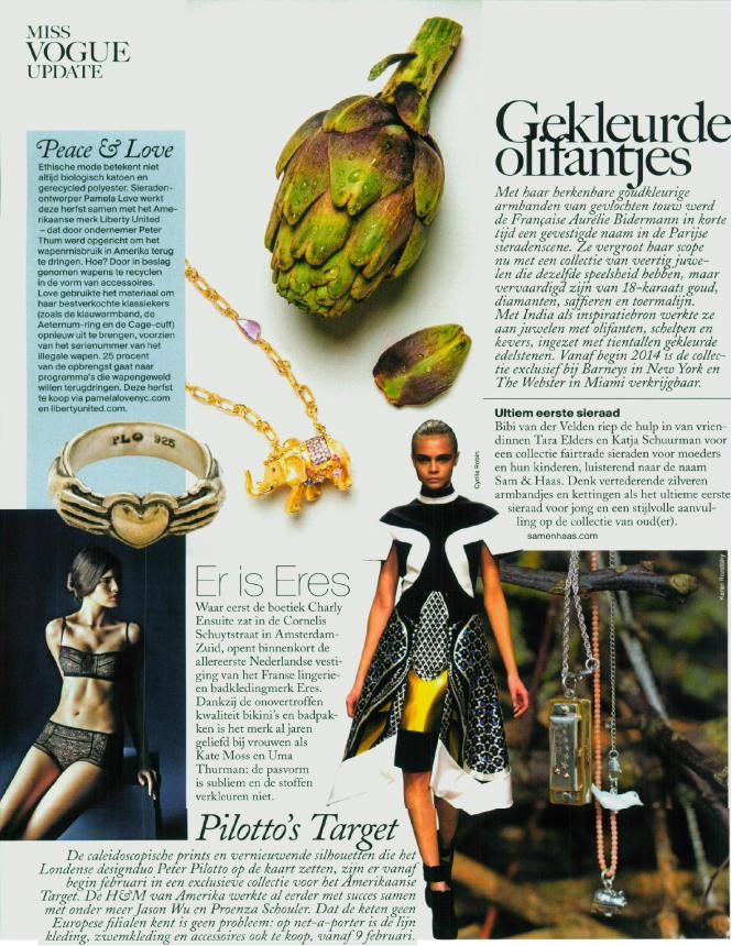 Vogue NL November 2013 - Sam & Haas