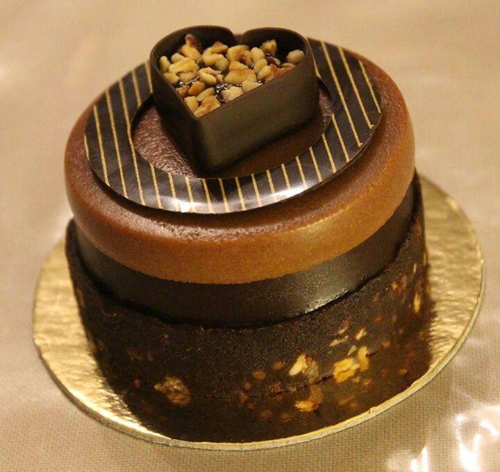 Chocolate hazelnut dessert | Chocolate | Pinterest