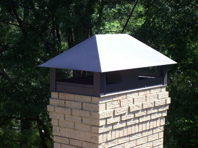 Advanced Chimney Sweeps can fabricate and install a custom chimney cap or shroud for your