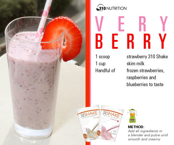 Jenni JWOWW Farley - Very Berry 310 nutrition shake fitness and health