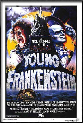 Young Frankenstein - Framed Movie Poster / Print (Size: 27 x 40) @ niftywarehouse.com #NiftyWarehouse #Geek #Horror #Creepy #Scary #Movies