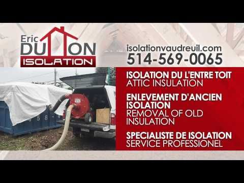 QUEBEC Cellulose Isolation Services in West-Island Montreal Dorval QC