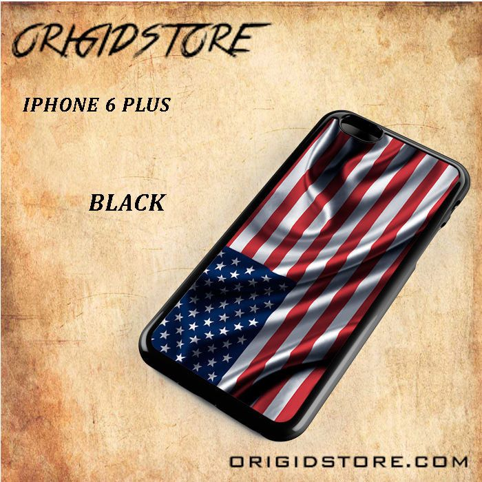 Waving American Flag Black White Snap On Or 3D For Iphone 6 Plus
