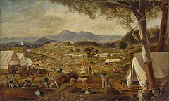 Gold diggings, Ararat, Victoria, 1854  Australian gold rushes - Wikipedia, the free encyclopedia
