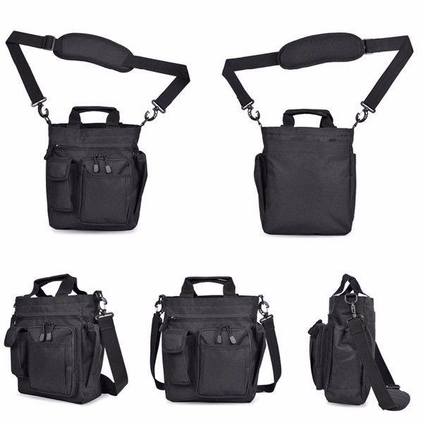 Men Nylon Waterproof Tactical Outdoor Sport Crossbody Bag Handbag