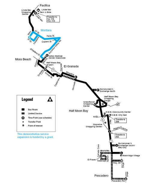 SAMTRANS Route-17