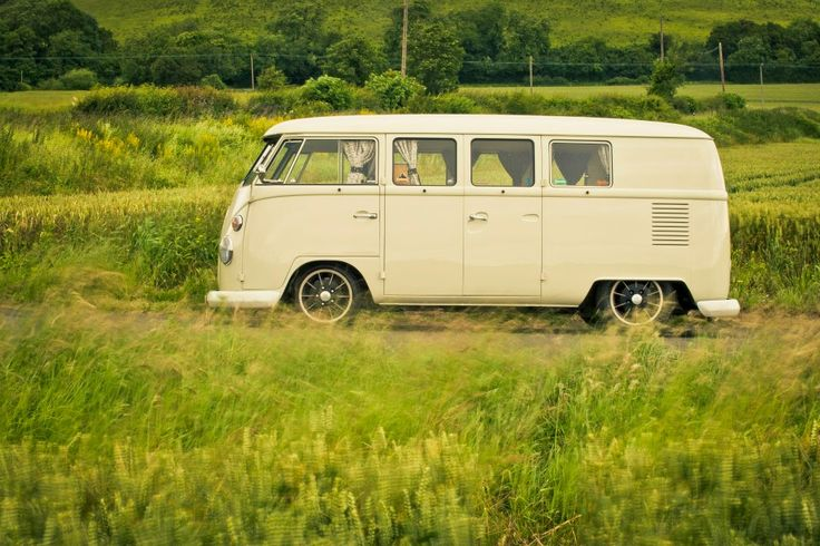 Arrive in style! Classic 1965 VW Split Screen Camper Van wedding hire. London, Kent and Surrey.