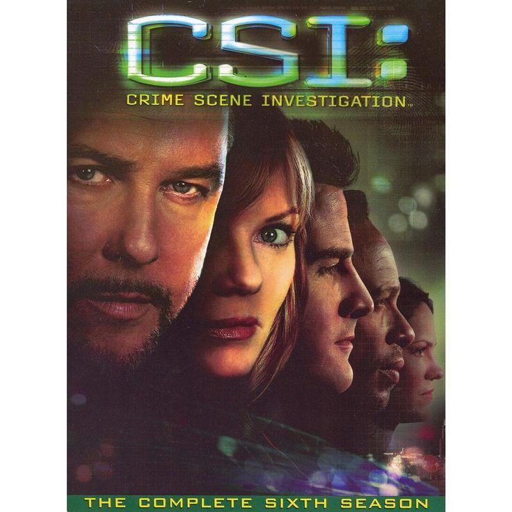 Csi: Crime Scene Investigation - The Complete Sixth Season [7 Discs]