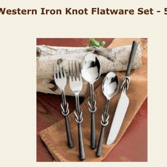 Iron Knot Flatware Set