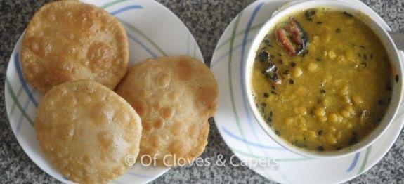 Hing-er Kachuri recipe—An aromatic kachori stuffed with Urad dal – Of Cloves & Capers