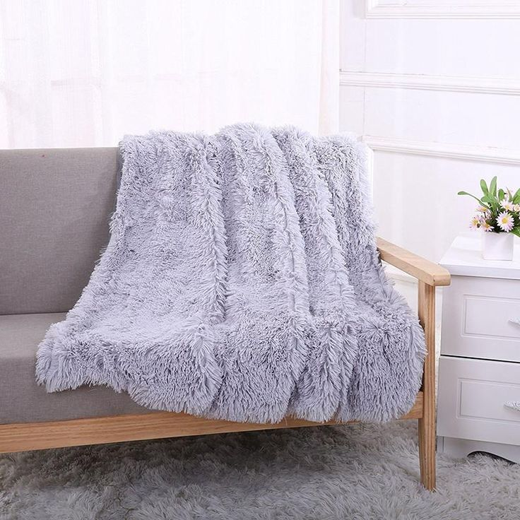 Kindan Faux Fur Throw - Pin for Inspo!