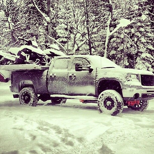 Good Cars For Snow: Sled Bed, And Truck ️ ️