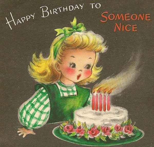 The 74 Best Happy Birthday Wishes (With images) | Vintage ...