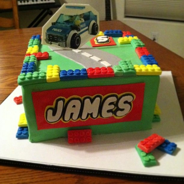 Lego City Cake :) | Flickr - Photo Sharing!