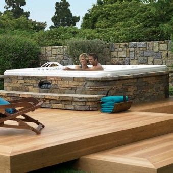 17 Best Images About Hot Tubs Spas Amp Decks On Pinterest