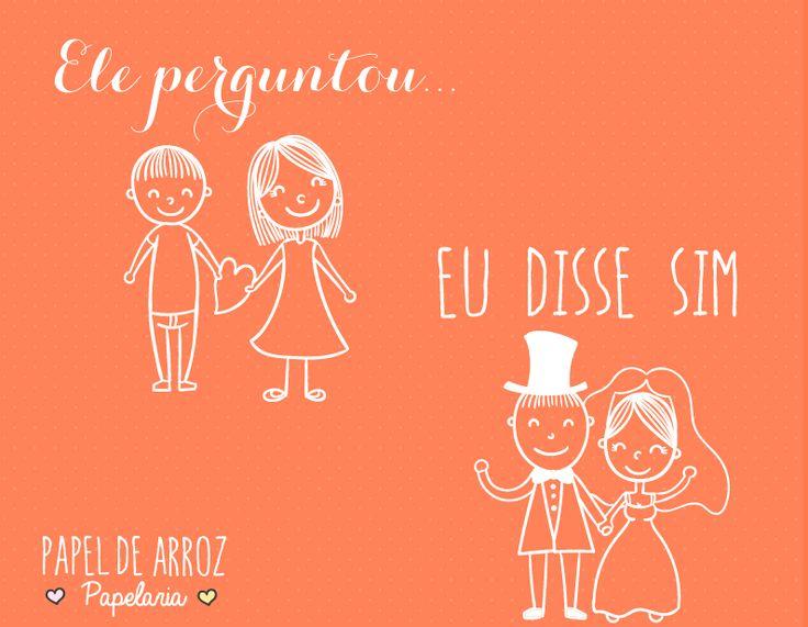 Ser noiva é... #frasesdenoiva #casamento #amor #wedding #love #eudissesim