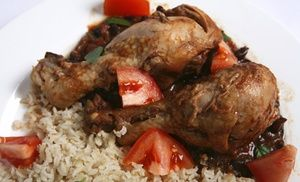 Groupon - Lunch Buffet, or $ 16.50 for $30 Worth of Jamaican Food for Dinner at Jamaica Gates Caribbean Cuisine in West Arlington. Groupon deal price: $16.50