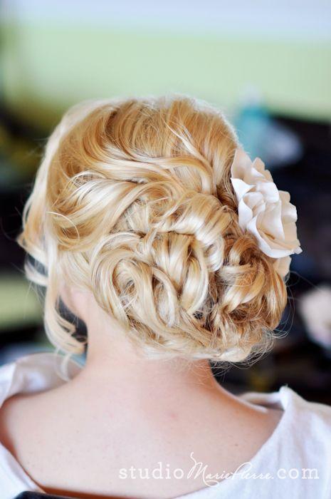 Up-do: Weddings Hairstyles, Hair Styles, Wedding Ideas, Up Do, Hairstyle Ideas, Updos, Fashion Hairstyles, Bride Hairstyles, Wedding Hairstyles