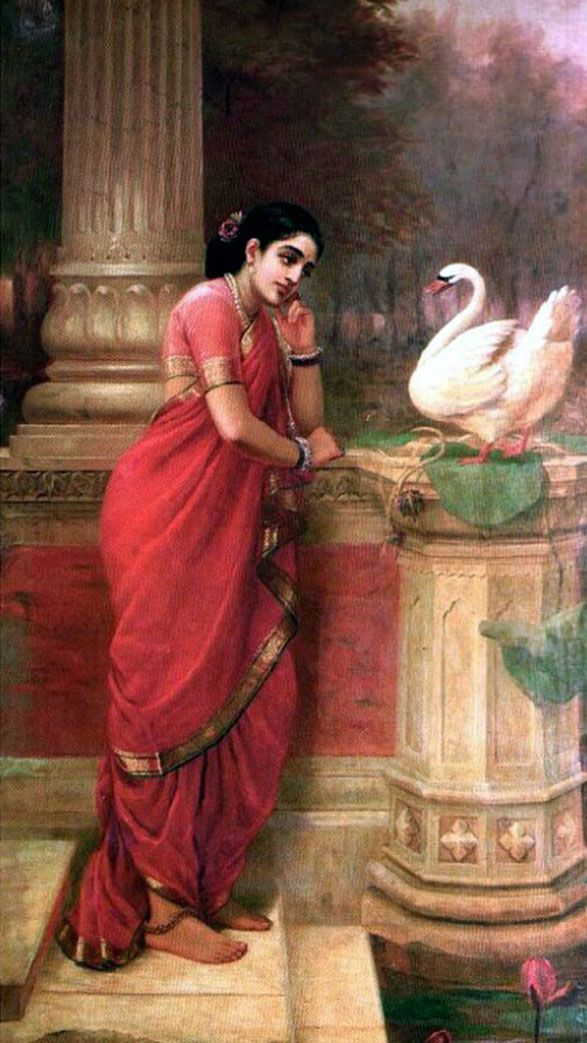 25 Best Oil Paintings by Raja Ravi Varma - 18th Century Indian Traditional Paintings | Read full article: http://webneel.com/25-best-oil-paintings-raja-ravi-varma-18th-century-indian-traditional-paintings | more http://webneel.com/paintings | Follow us www.pinterest.com/webneel