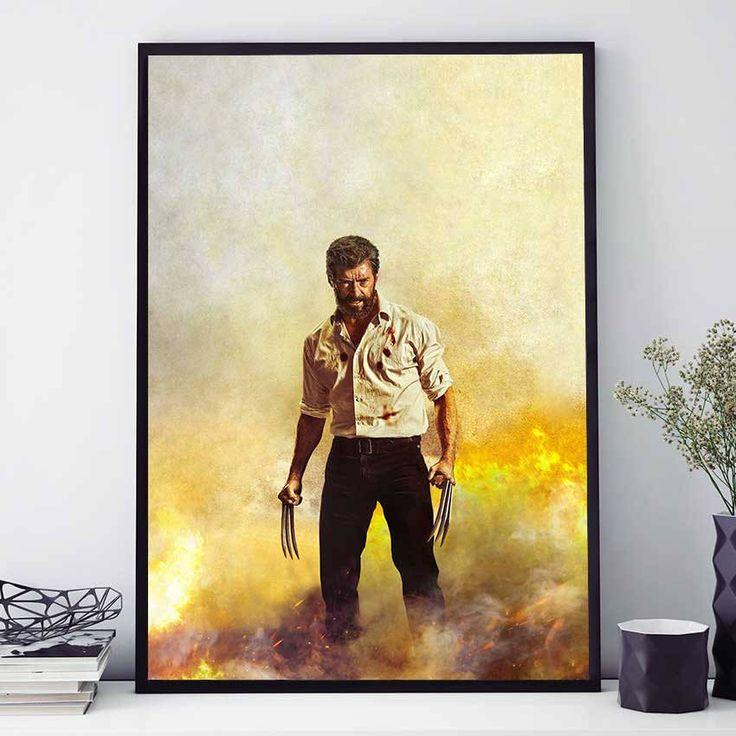 Logan Wolverine Poster, Movie Poster, Marvel Print, Logan Wolverine Print, Marvel Comics Wall Art, X Men Wall Art Decor, Kids Room (N4076) by PointDot on Etsy