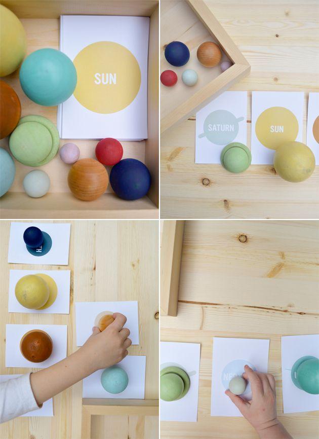 Voici une activité ludique que j'ai découverte sur la toile, via un blog anglophone Playfullearning.net.