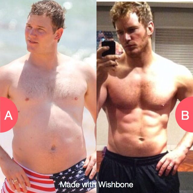 Chris Pratt before or after Click here to vote @ http://getwishboneapp.com/share/3283812